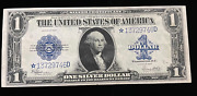 1923 1.00 One Dollar Silver Certificate Star Note Large Note Speelman / White