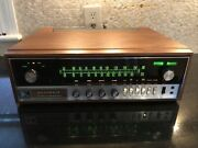 Mint Heathkit Ar-15 Amfm Solid State Receiver Woodcase Perfect Working Condition