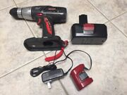 Craftsman 1/2 Drill Kit With Battery And Charger 315.114480 19.2v
