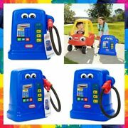 Gas Pump Pretend Play With Fun Sounds For Kids Cozy Pumper Blue By Little Tikes