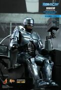 Hot Toys 1/6 Robocop Mms203d05 Die-cast With Mechanical Chair Docking Station