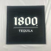 Brand New 1800 Tequila Black And White 15 X 15 Bar Spill Mat