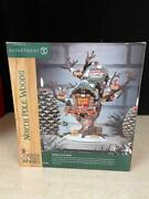Dept. 56 North Pole Woods Reindeer Care And Repair - Mint In Box