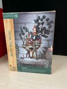 Dept 56 North Pole Woods Lighted Town Meeting Hall Tree House 56880 Retired