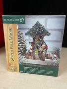 Dept 56 North Pole Woods Lighted Trim-a-tree Factory 56884 Retired