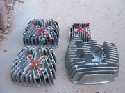 Nos Suzuki T500 L H Cylinder Head And Bolts 8 4 Large 4 Small 1968-75 Nos Look