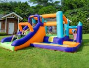 Inflatable Commercial Bounce House Water Pool Bouncer Castle With Air Blower