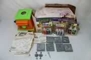 Vintage 90's Creepy Crawlers Workshop Oven Magic Maker 7 Molds And 8 Goop