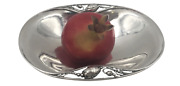 Georg Jensen Sterling Silver Hand Hammered Condiment Dish In Blossom Pattern 2