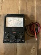 Vintage Simpson Multimeter 260 Analog With Leads See Pics. As Is