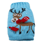 Xmas Knitted Jumper Beer Wine Spirit Bottle Cooler Gift Fun Party Decor Mp