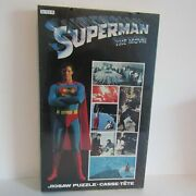 1978 Superman The Movie Jigsaw Puzzle New Sealed