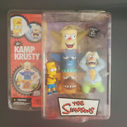 Mcfarlane Toys The Simpsons Kamp Krusty Bart And Clown Episode 8f24 New 2007