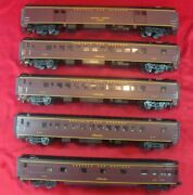 Mth Electric Trains 70and039 Scale Streamlined Passemger Car Set Item № 20-6514
