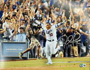 Justin Turner Dodgers Signed 11x14 Photo 17 Nlcs Walkoff Home Run Beckett