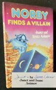 Janet Isaac Asimov / Norby Finds A Villain Signed 1st Edition 1987