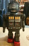 Horikawa Toy Super Astronaut Vintage Tin 1960and039s Made In Japan Showa Retro Robot
