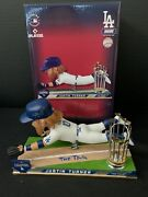 Justin Turner Dodgers Signed 2020 Ws Bobblehead The Tag Beckett Wk50389