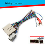 Car Stereo Radio Wiring Harness Adapter Plug For Ford Focus Freestyle 2005-2007