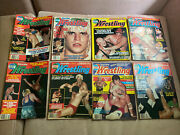 Victory Sports Series Inside Wrestling - 1981 8 Issues Big Names