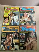 Victory Sports Series Inside Wrestling - 1983 4 Issues Big Names