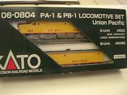 Kato N Scale 106-0804 Up Pa-1 And Pb-1 Alco Diesel Locomotive Set