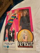From1970 Collection Kenner The Six Million Dollar Man Fembot New.