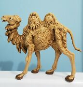 Fontanini Camel Made In Italy 5 Tall Roman Nativity Collectible Depose Italy