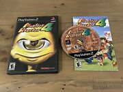 Ps2 Playstation 2 Monster Rancher 4 Tecmo Cib Complete Case Manual Video Game