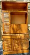 Ethan Allen Crp Cabinet With Lock And Light 10-4059 Custom Room Plan Hutch Office