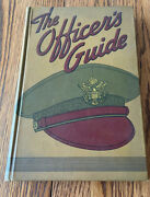The Officer's Guide Book Wwii Us Army Air Corps 2nd Lieutenant Named 1942