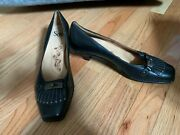 Black Leather Business/dress Shoes - Womens Size 12m