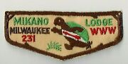 Mikano Lodge 231 F1a First Flap With Lower Lip [cm0821]