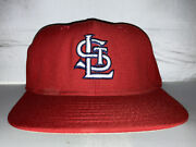Vtg St Louis Cardinals Km Pro Fitted Hat Cap Size Mlb Baseball Rare Auto