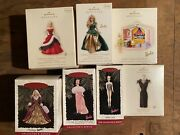 Second Lot Of 41 Hallmark Barbie Ornaments Barbie's Family Deluxe House And More