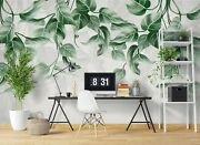 3d Green Leaves 20480na Wallpaper Wall Murals Removable Wallpaper Fay
