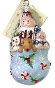 Patricia Breen Tis Christmas Time - Blue 2500nm 2005 Neiman Marcus 4.5andrdquo Jeweled