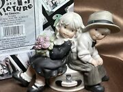 """Retired Enesco Paap Kim Anderson """"just You And Me Always """" In Box Vg++ Rare"""