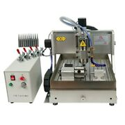 Metal Engraving Milling Machine 4 Axis Cnc 3020 Wood Router 800w 1500w Spindle