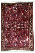 Handmade Antique Oriental Rug 3.2and039 X 5.3and039 97cm X 151cm 1920s - 1b736