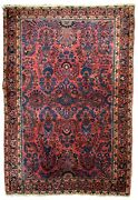 Handmade Antique Oriental Rug 3.1and039 X 5.5and039 94cm X 167cm 1910s - 1b737