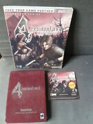 Resident Evil 4 Gamecube Gamestop Special Edition +guide+soundtrack Neuf/sealed