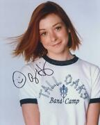 Alyson Hannigan As Michelle Flaherty - American Pie Genuine Signed Autograph