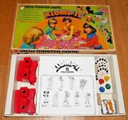 Viewmaster Disney Klomp-it Game Inc. 2 Rare Model G Viewers 1972 Toy Set D088