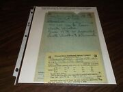 June 1961 Wss Winston-salem Southbound Train Order Ablemarle, Nc