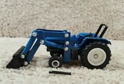 Ertl 1/64 Scale Diecast Ford Front Loader With Roll Bar Tractor Farm Toy