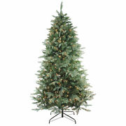 Northlight 9and039 Washington Frasier Full Artificial Christmas Tree - Clear Lights