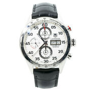 Tag Heuer Carrera Day-date Calibre 16 Cv2a11.fc6235 Automatic Menand039s Watch 43mm