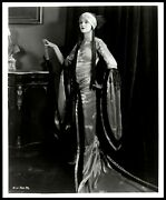 Myrna Loy Pre-code Queen Stylish Pose The Gilded Highway 1926 1950s Photo 483
