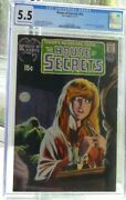 Dc Comics Cgc 5.5 Fn- 1st Appearance Swamp Thing House Of Secrets 92